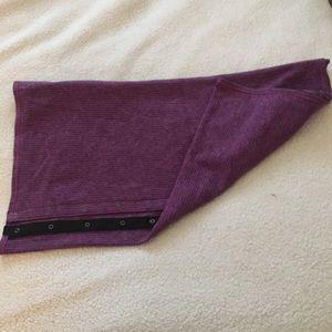 Lululemon Purple Vinyasa Scarf